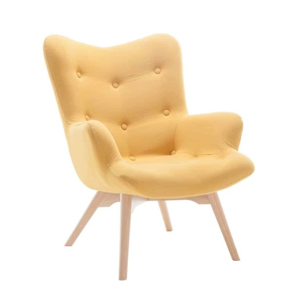 Malmo wingback armchair DeFrae Contract Furniture