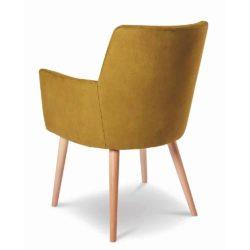 Bibi Armchair DeFrae Contract Furniture Back View