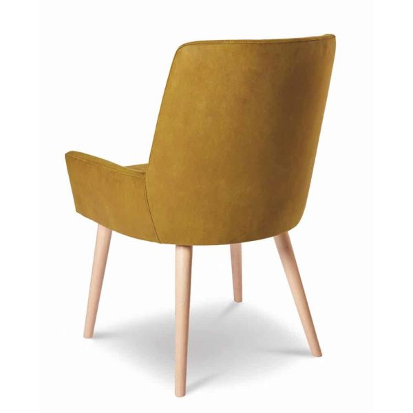Bibi Side Chair DeFrae Contract Furniture Back View