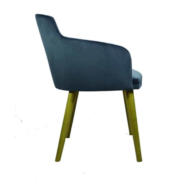 Micki Armchair DeFrae Contract Furniture Side View