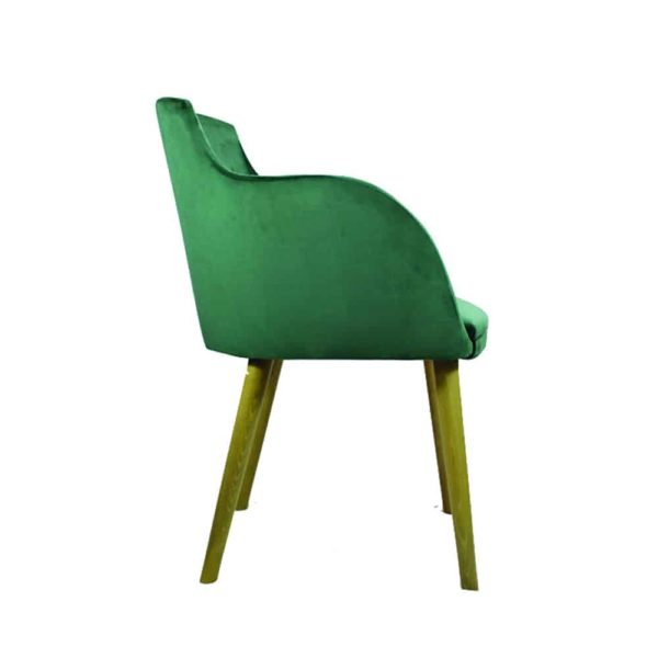 Pixie Armchair DeFrae Contract Furniture Side View