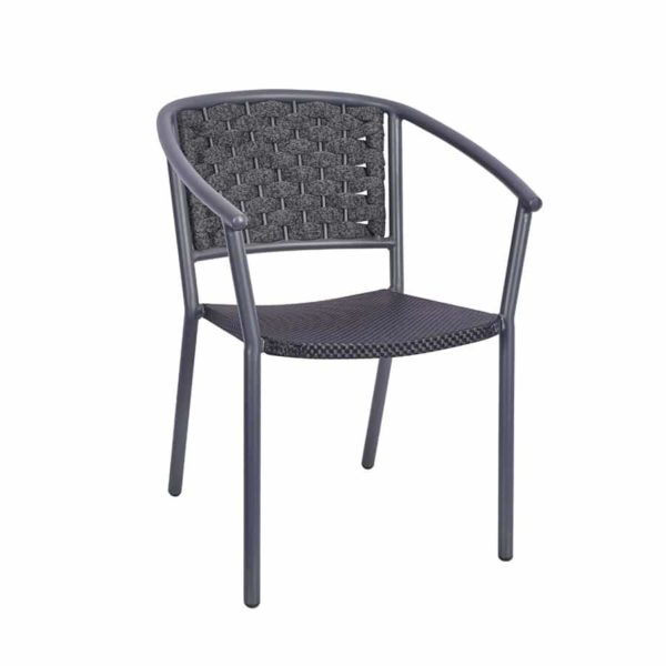 Seville Armchair DeFrae Contract Furniture Rope Effect Outdoor chair