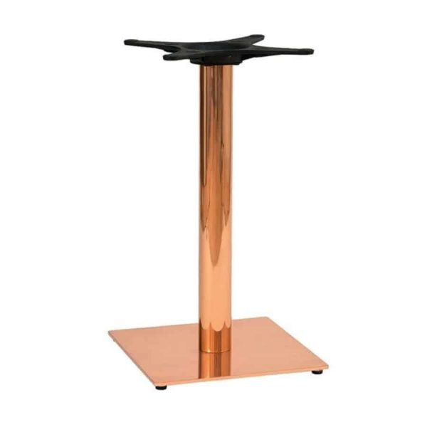 Zeta Table Base Dining Height Square Base