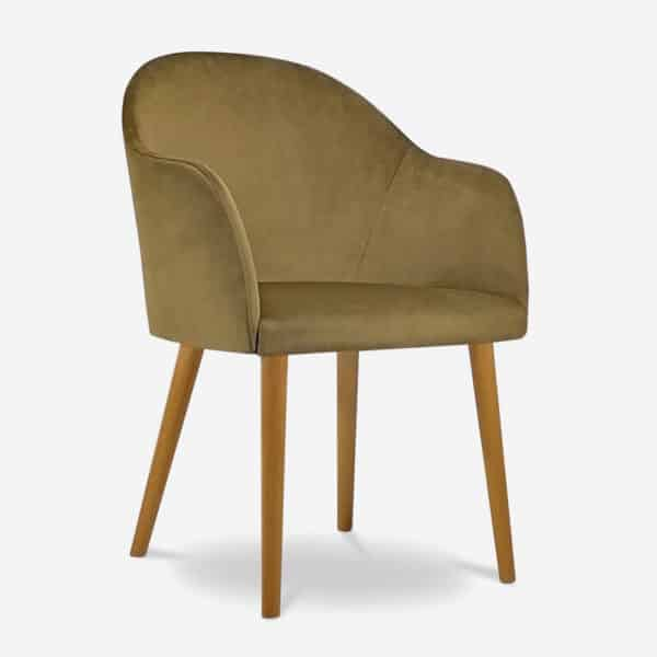 Jerry Armchair for restaurant bar or coffee shops by DeFrae Contract Furniture