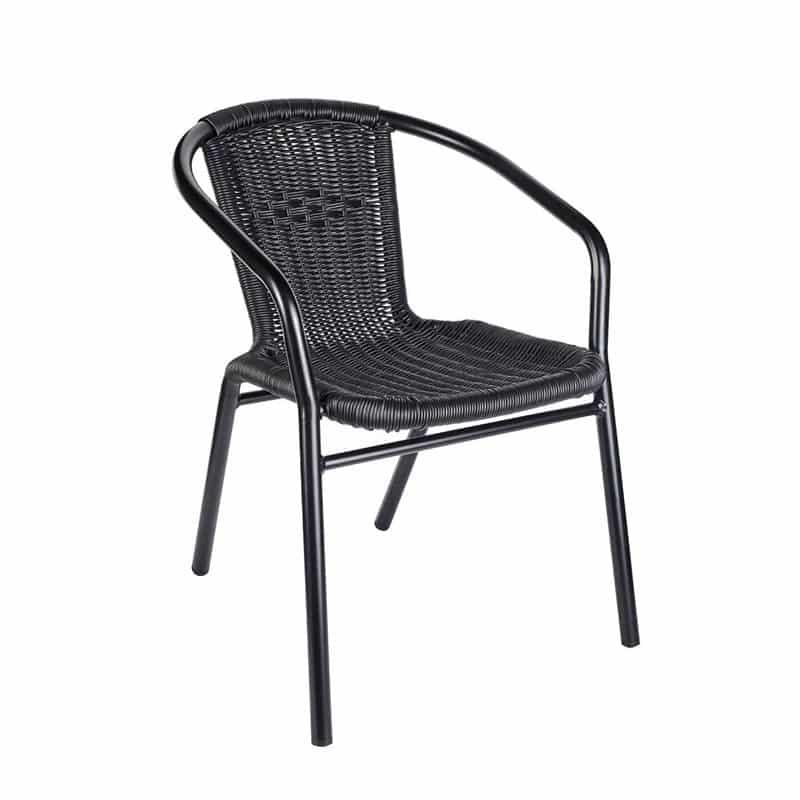 Black Wix Armchair DeFrae Contract Furniture