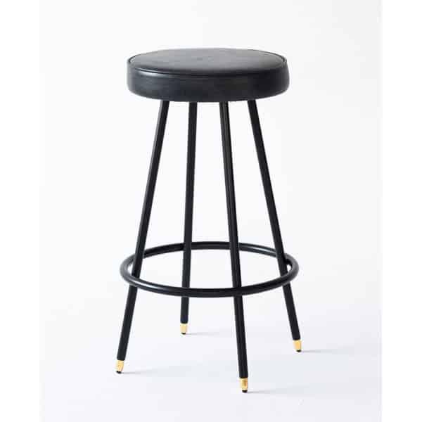 Block B Round Bar Stool Bar Stool DeFrae Contract Furniture