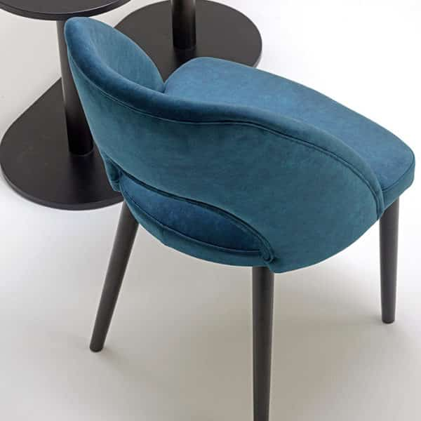 VAJA Side Chair DeFrae Contract Furniture Above View