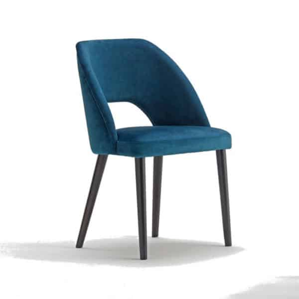 VAJA Side Chair DeFrae Contract Furniture Front View