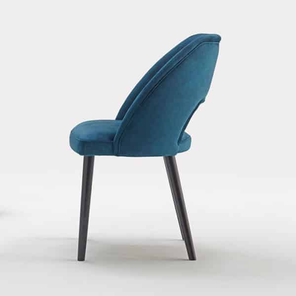 VAJA Side Chair DeFrae Contract Furniture Side View